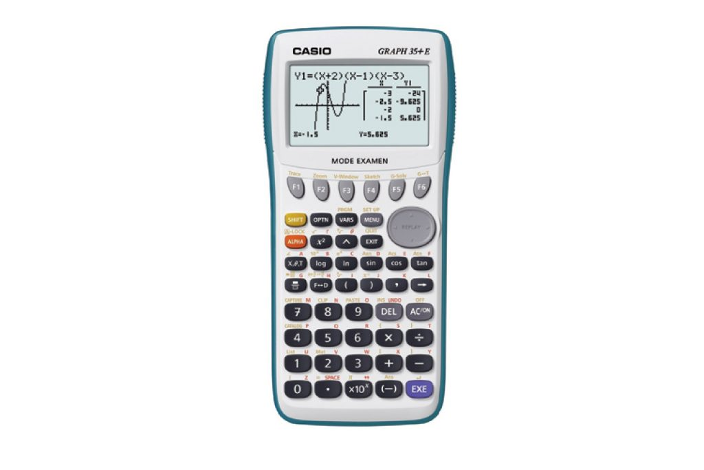 Casio Graph 35+ E Calculatrice graphique