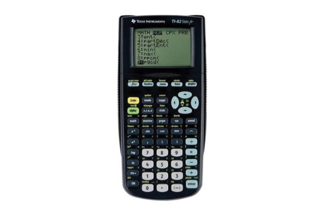 Texas Instrument TI-82 Stats